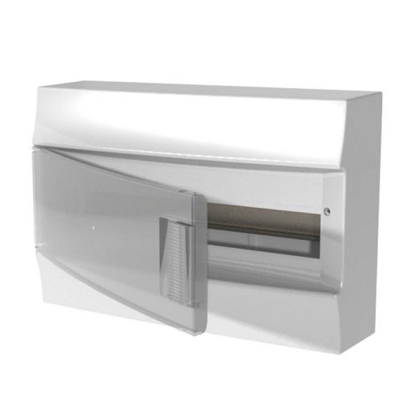Бокс настенный АВВ Mistral41 18М прозрачная дверь с клеммным блоком