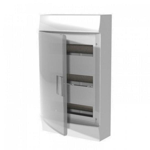 Бокс настенный АВВ Mistral41 36(3х12)М прозрачная дверь с клеммным блоком