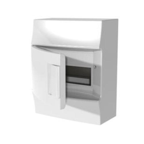 Бокс настенный АВВ Mistral41 8М белая дверь с клеммным блоком