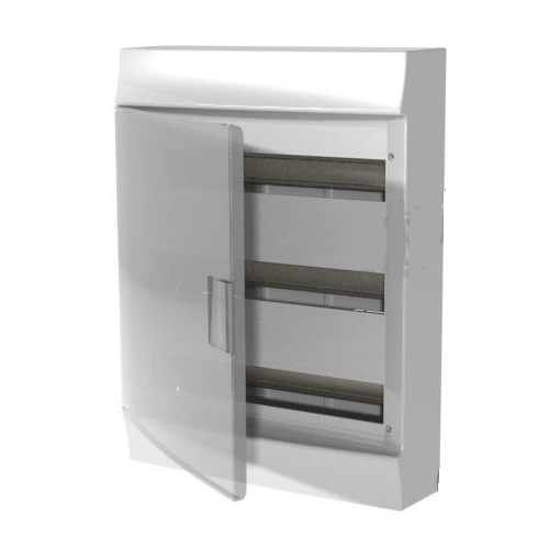 Бокс настенный АВВ Mistral41 54М прозрачная дверь с клеммным блоком