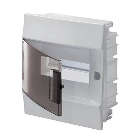 Бокс в нишу ABB Mistral41 6М прозрачная дверь с клеммным блоком
