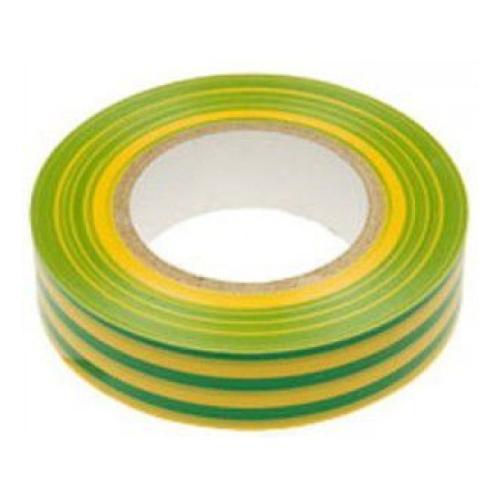 Изолента ПВХ Neomatec желто-зеленая