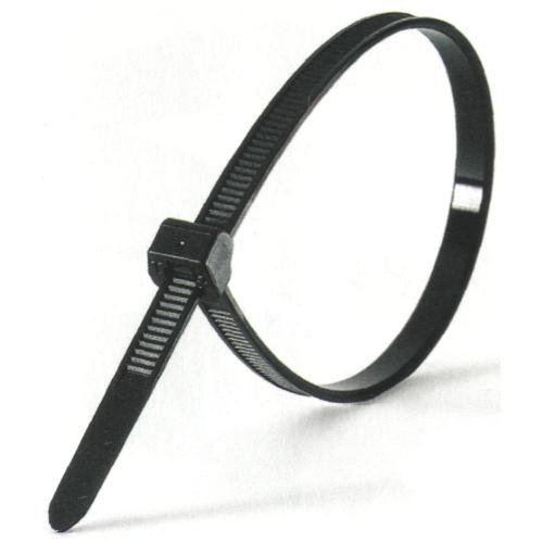 Кабельная стяжка 300х4 черная (100 шт.)