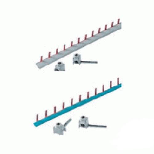 Разводка шинная фазная ABB BS9 1/12 для дифавтоматов DSH941r, 12 модулей, 1P, серый
