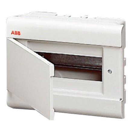 Бокс в нишу ABB Europa 8М с непрозрачной дверцей (белый)