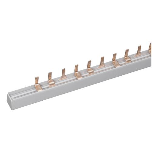 Шина-гребенка ABB типа PIN (штырь), 60 модулей, 3P, 80A, белый