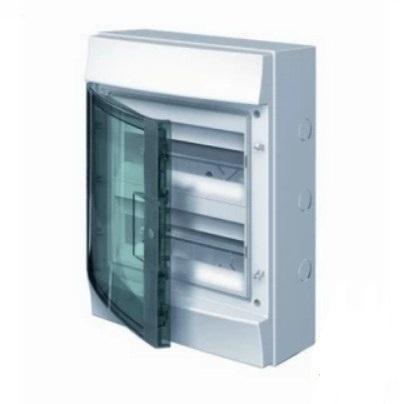 Бокс настенный 36 мод. прозрачная дверь 2 ряда (с клемм) IP65 ABB Mistral 1SLM006501A1205