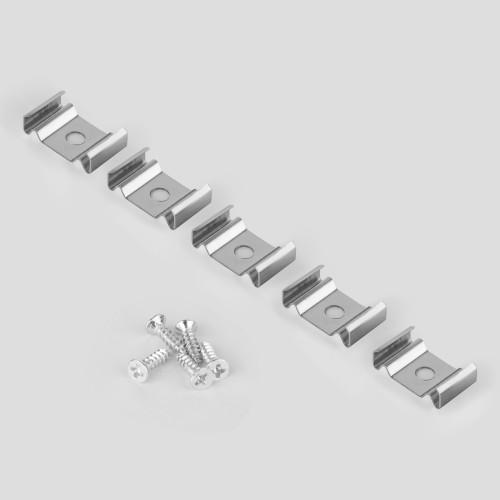 Клипса монтажная для гибкого профиля для светодиодной ленты Clip LL-2-ALP012