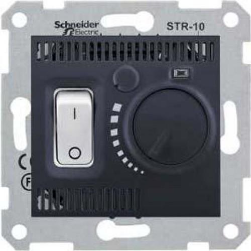 Термостат комнатный, Графит, серия Sedna, Schneider Electric