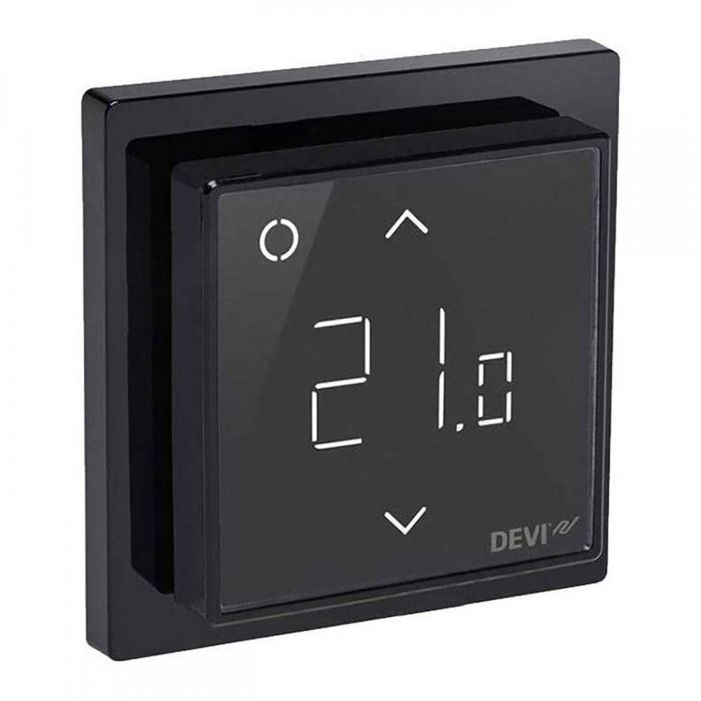 Терморегулятор DEVIreg Smart black (черный) — Wi-Fi