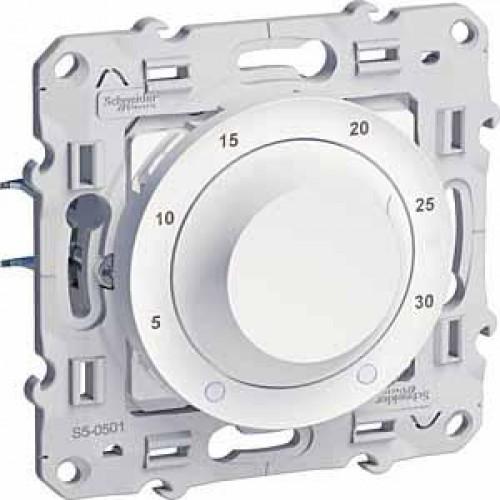 Термостат комнатный, Белый, серия Odace, Schneider Electric