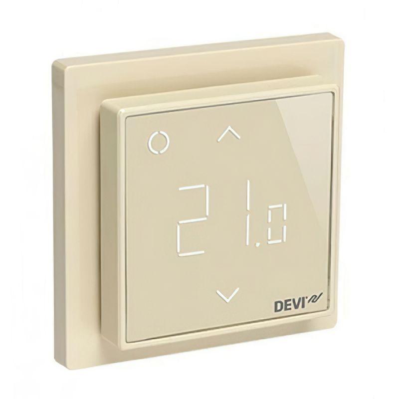 Терморегулятор DEVIreg Smart Ivory (слоновая кость) — Wi-Fi