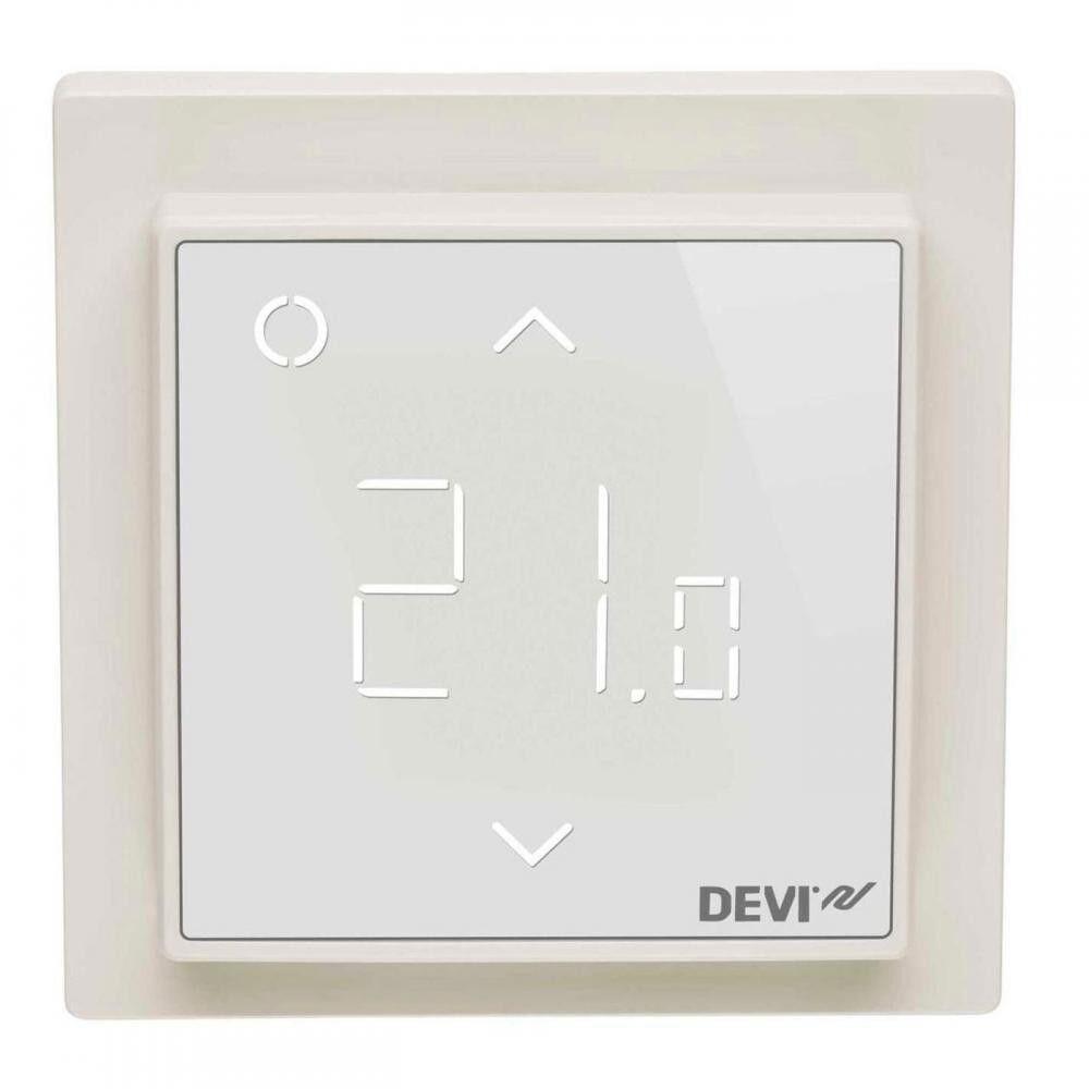 Терморегулятор DEVIreg Smart pure white (теплый белый) — Wi-Fi