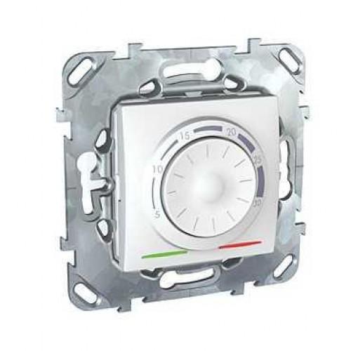 Термостат комнатный, Белый, серия Unica, Schneider Electric
