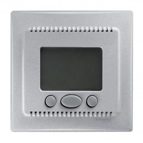 Термостат комнатный программируемый, Алюминий, серия Sedna, Schneider Electric