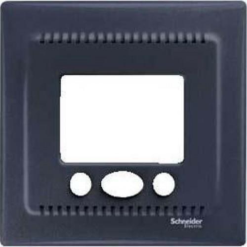 Термостат комнатный с сенсорным дисплеем, Графит, серия Sedna, Schneider Electric