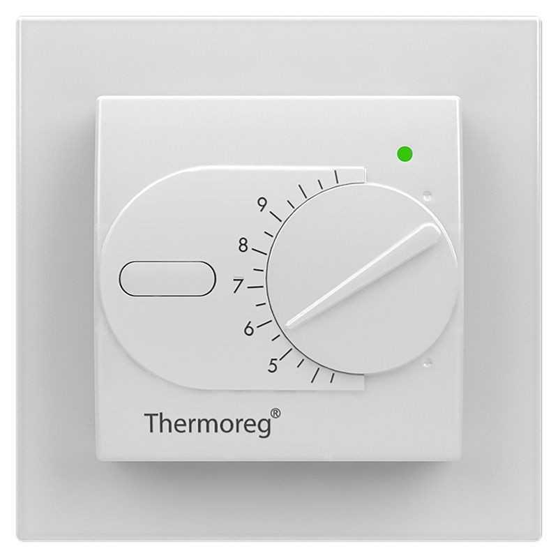 Терморегулятор для теплого пола Thermoreg TI-200 Design