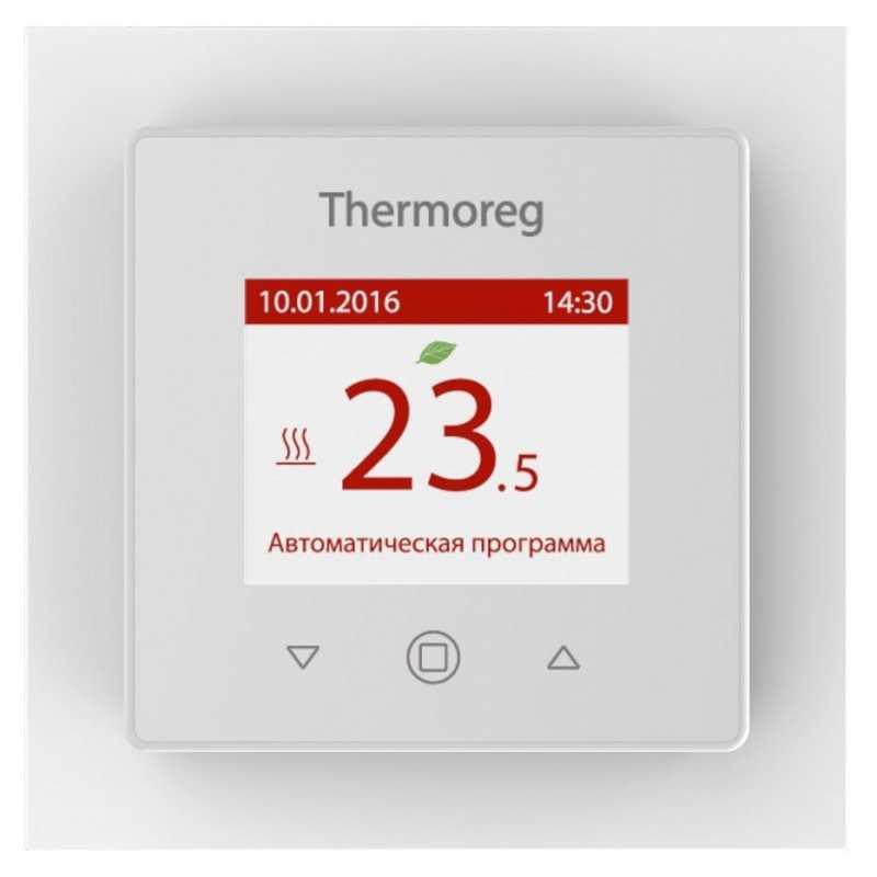 Терморегулятор для теплого пола Thermoreg TI-970 белый