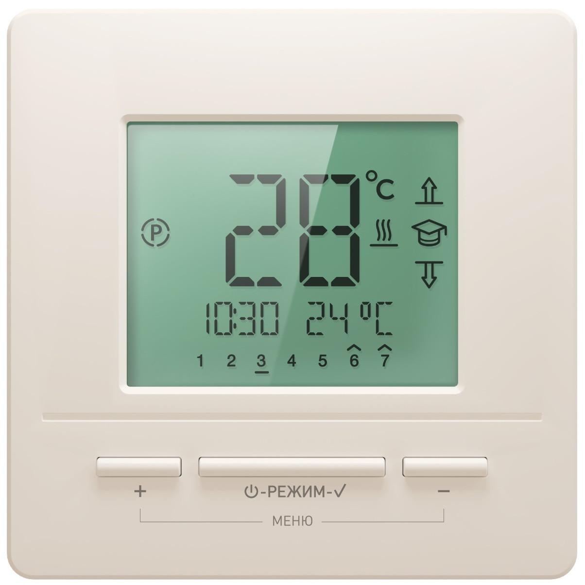 Терморегулятор Национальный комфорт 721 кремовый
