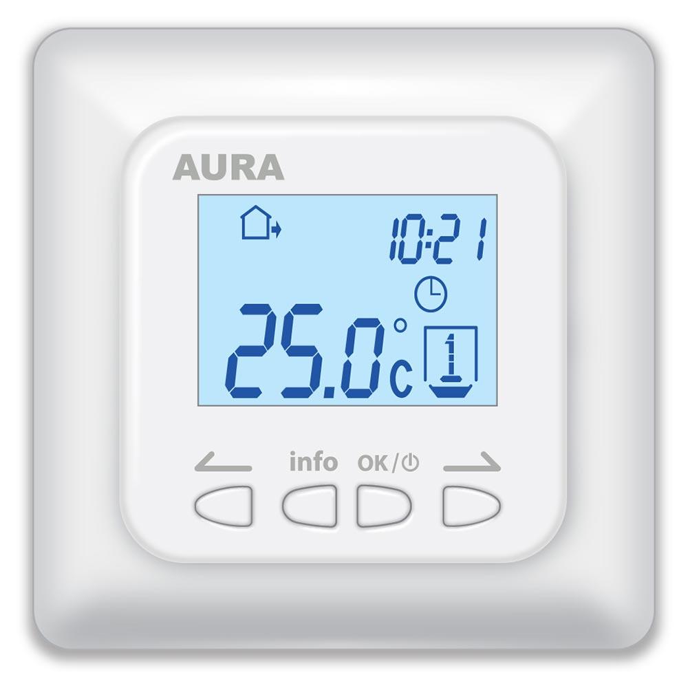 Терморегулятор AURA LTC 730 белый