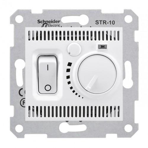 Термостат комнатный, Белый, серия Sedna, Schneider Electric