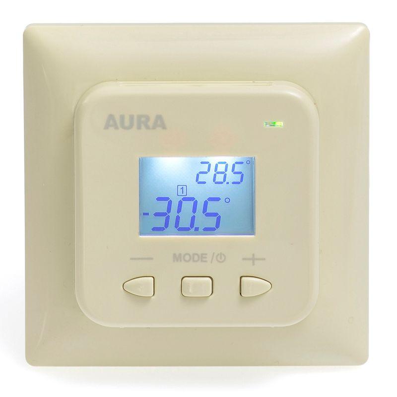 Терморегулятор AURA LTC 440 кремовый