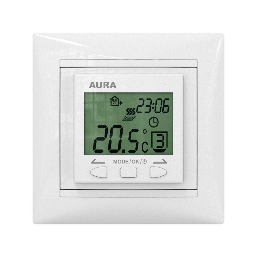 Терморегулятор AURA LTC 090 белый