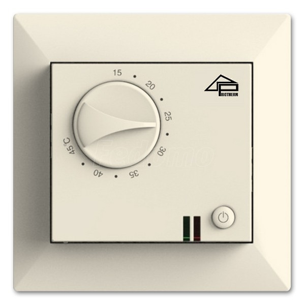 Терморегулятор Priotherm PR-109 кремовый