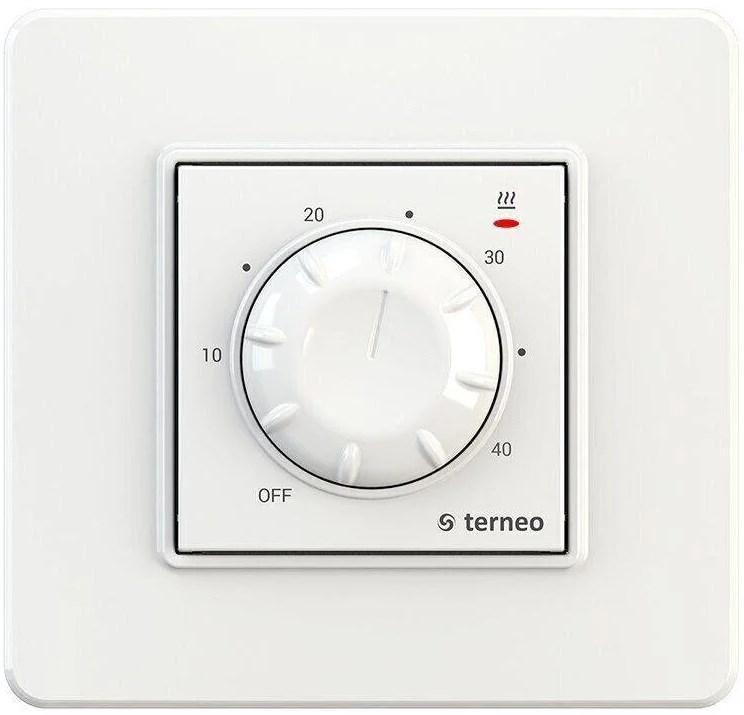 Терморегулятор Terneo rtp слоновая кость