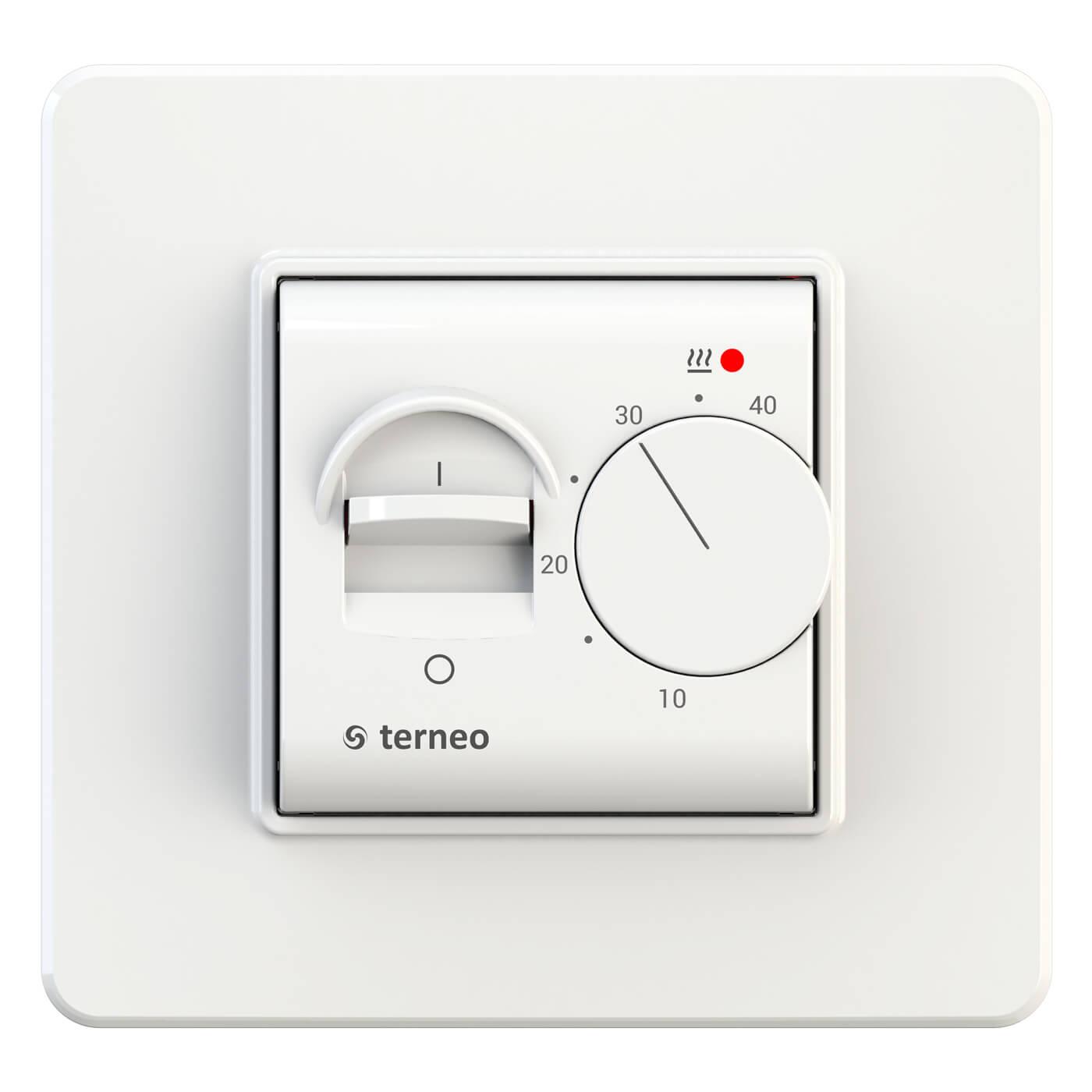 Терморегулятор Terneo mex unic белый