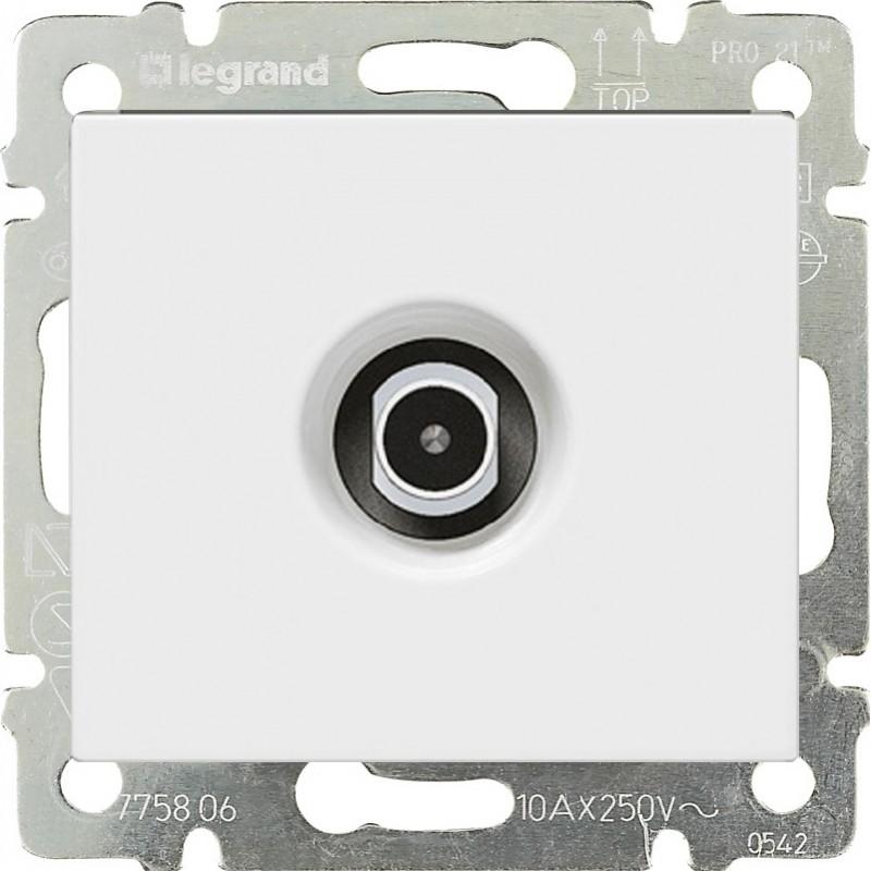 Розетка TV/SAT оконечная, белый 774430 LG