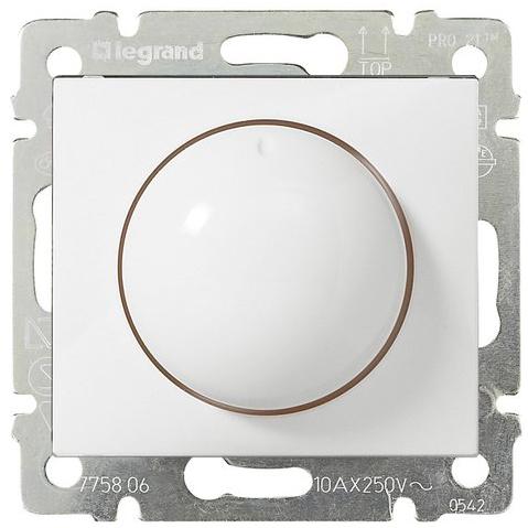 Светорегулятор поворотный 400Вт, белый 770061 LG