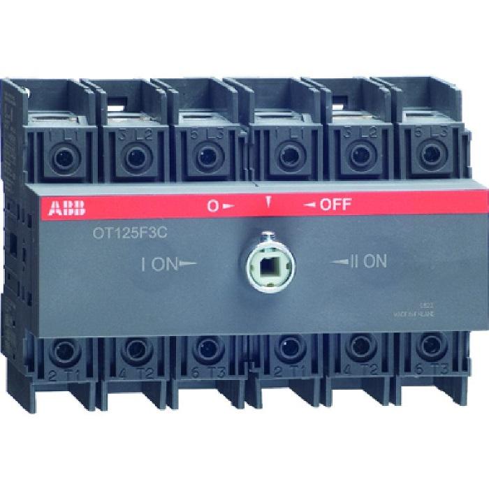 Реверсивный выключатель нагрузки АВВ OT125F3C 3P 125A