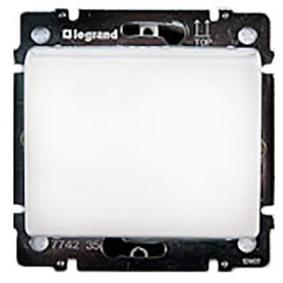Выключатель с ключ-картой, белый 774235 LG