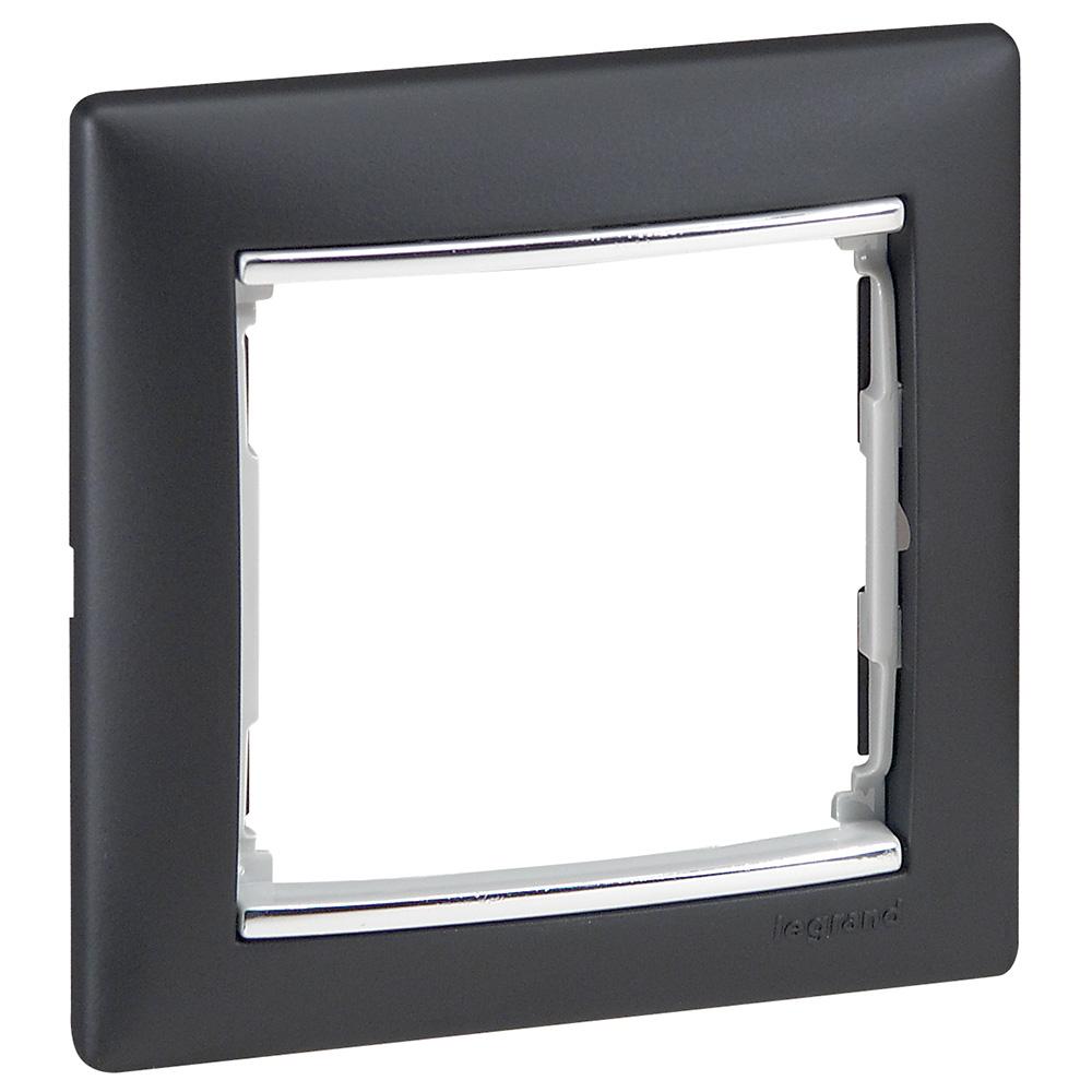 Рамка 1-я, ноктюрн/серебряный штрих, универсальная 770391 LG