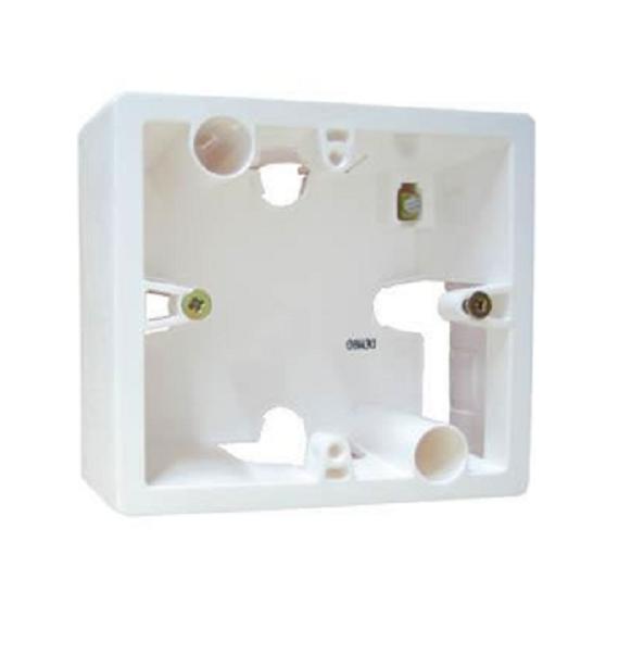 Коробка 1-я без рамки, белый, универсальная 776181 LG