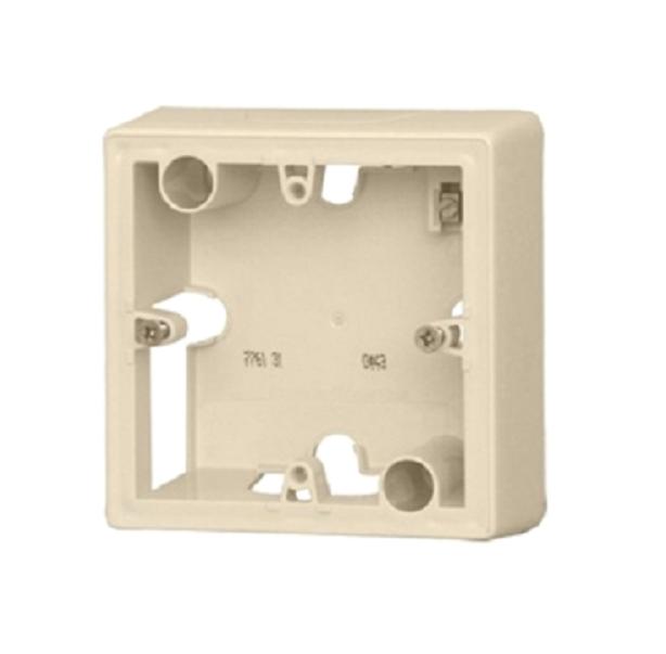 Коробка 1-я без рамки, слоновая кость, универсальная 776131 LG