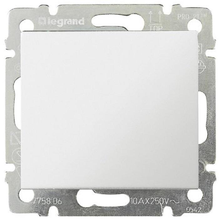 Выключатель 1-но клавишный, белый 774401 LG