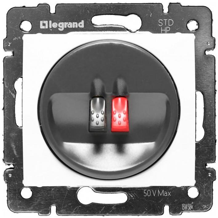 Розетка Audio Hi-Fi mono, белый 774223 LG