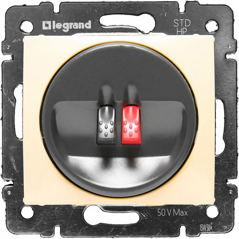 Розетка Audio Hi-Fi mono, слоновая кость 774123 LG