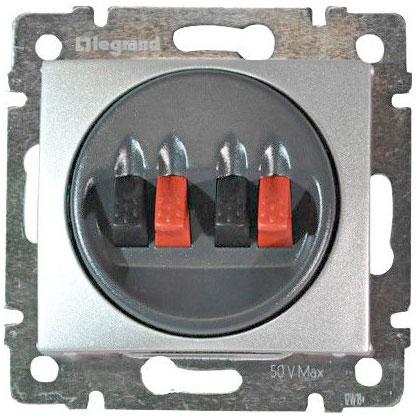 Розетка Audio Hi-Fi stereo, алюминий 770124 LG