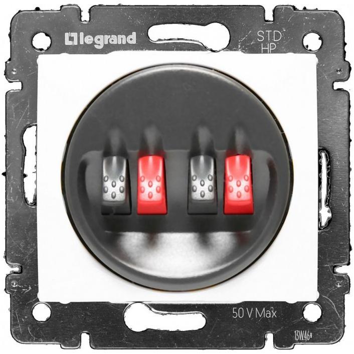 Розетка Audio Hi-Fi stereo, белый 774424 LG