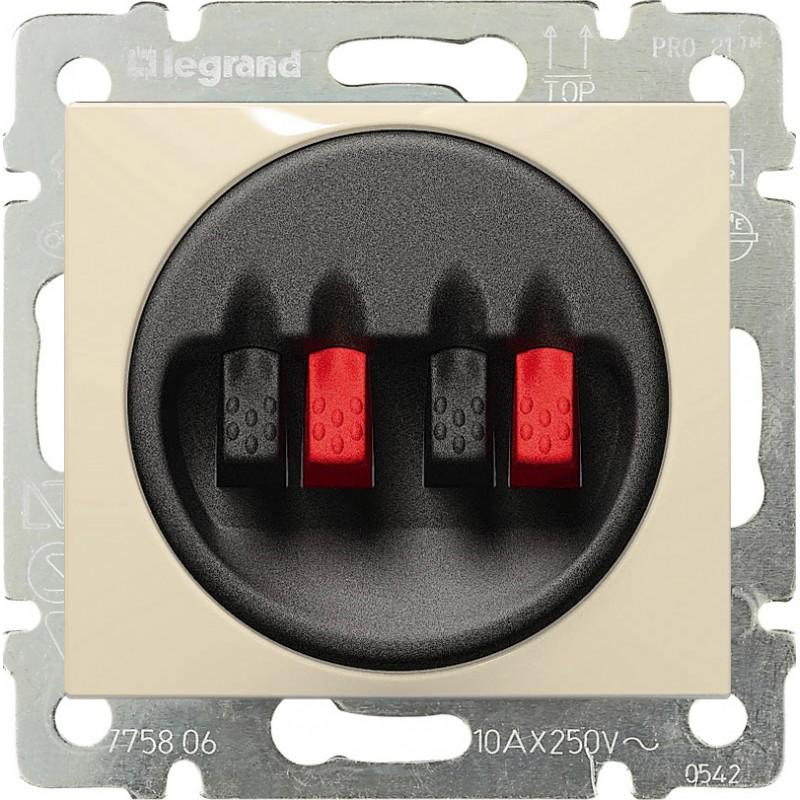 Розетка Audio Hi-Fi stereo, слоновая кость 774324 LG