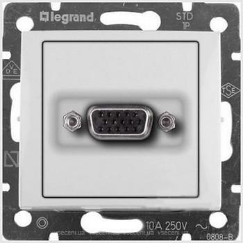 Розетка мультимедийная видео HD15, белый 770083 LG