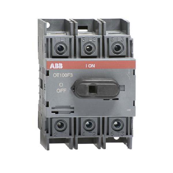 Выключатель нагрузки АВВ OT100F3 100А