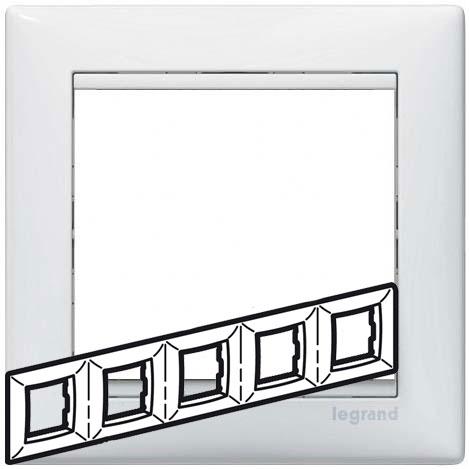 Рамка 5-я, белый, универсальная 774455 LG