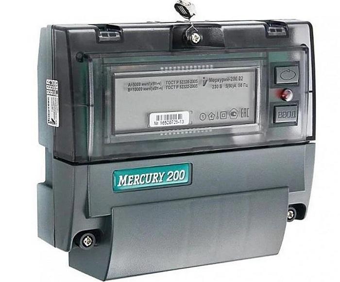 Электросчетчик Меркурий 200.02 5-60А