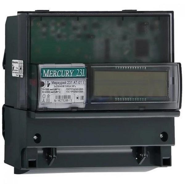 Электросчетчик Меркурий 231 АT-01 5-60А