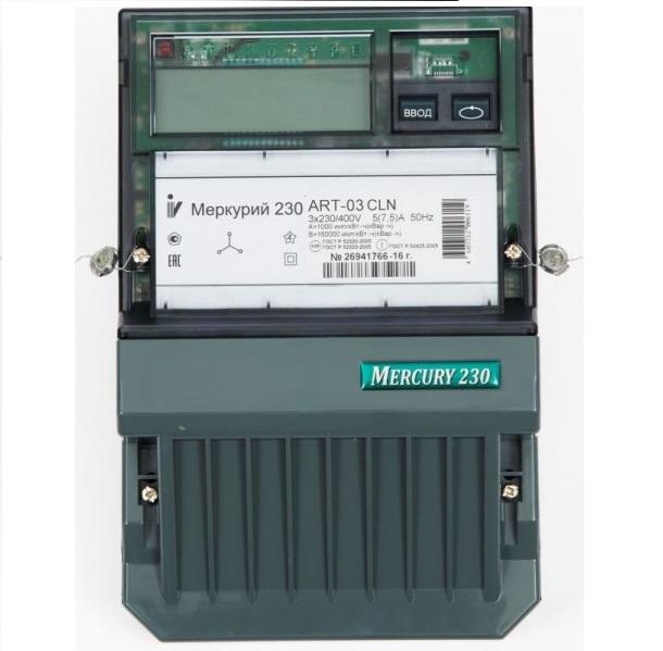 Электросчетчик Меркурий 230 ART-03 CLN 5-7,5A