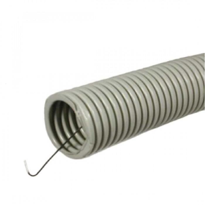 Труба гофрированная ПВХ с зондом 25 мм